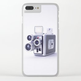 Vintage Camera 16mm Clear iPhone Case