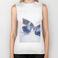 butterfly Biker Tanks featuring Butterfly by Pure Nature Photos