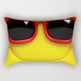 Smiley Rectangular Pillow