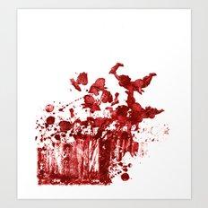 Cherub Massacre of 2000 Art Print