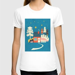 Festive Winter Hut T-shirt