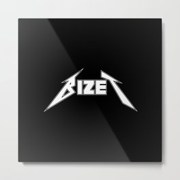Bizet Metal Print