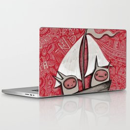 The Treacherous Journey Laptop & iPad Skin