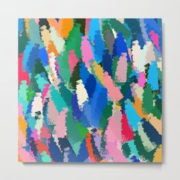A very colorful abstract art design Metal Print