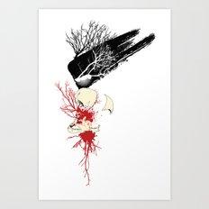 trash polka Art Print