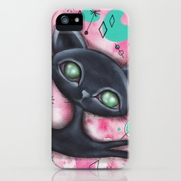 Joyce Cat iPhone Case