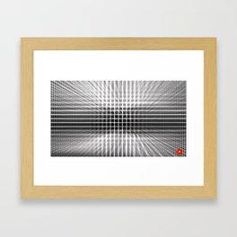 Qpop - Continuum 3 Framed Art Print