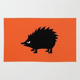 Angry Animals: hedgehog Rug
