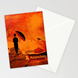 Melancholy 16 Stationery Cards
