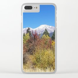 Shasta at Fall Clear iPhone Case