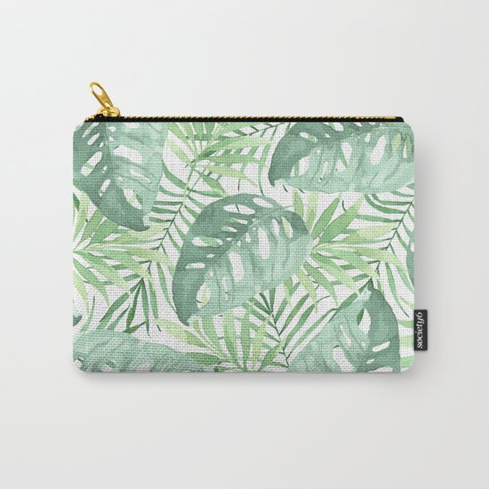 Tropical Branches Pattern 03 Carry-All Pouch