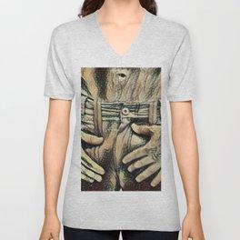 Picasso's Boner Unisex V-Neck