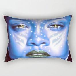 Rihanna - Celebrity Art (Avatar Style) Rectangular Pillow