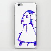 kate moss iPhone & iPod Skins featuring Kate Moss by fashionistheonlycure