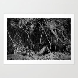 Roots - Human Series Art Print