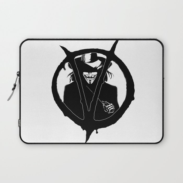 V for Vendetta3 Laptop Sleeve
