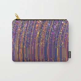 mia - tiny multi-colour dots create sparkly bright abstract pattern Carry-All Pouch