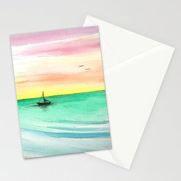 Rainbow Sunrise Stationery Cards
