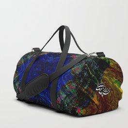 Mandala no. 15: Jungle Canopy Duffle Bag