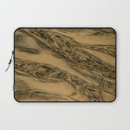 Water And Sand Abstract Laptop Sleeve