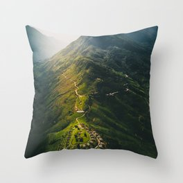 Northern Vietnam, Sapa Throw Pillow