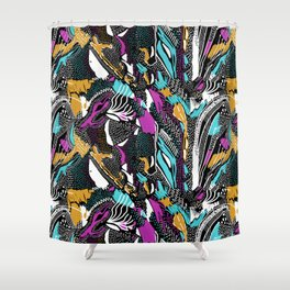 NEW TRIBE Shower Curtain