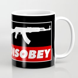 DISOBEY Coffee Mug