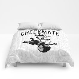 cfe3927e0 Checkmate Punch Funny Boxing Chess Comforters