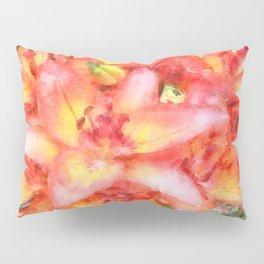 Helen's Lilies Watercolor Pillow Sham