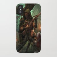 hunter x hunter iPhone & iPod Cases featuring Hunter by Mitul Mistry