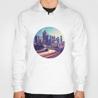 atlanta Hoodies featuring Atlanta Downtown by GF Fine Art Photography