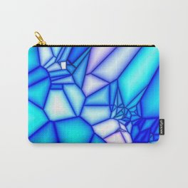 Glowing blue Carry-All Pouch