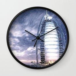 The Pride Of Dubai Wall Clock