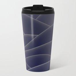 Blue ocean of wax Travel Mug