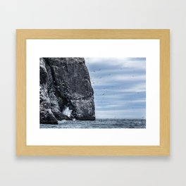 Resurrection Bay, Alaska Framed Art Print