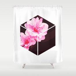 Peach Blossom Hoa Dao Tet Vietnam Shower Curtain
