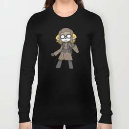Miles - Official Character Art Long Sleeve T-shirt