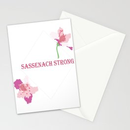 Sassenach Strong Stationery Cards