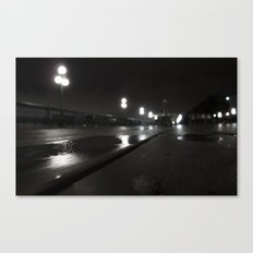 Promenade d'un nuit Canvas Print