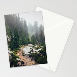 Granite Forest Trail Stationery Cards