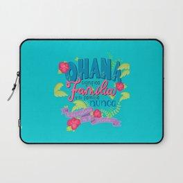 Ohana significa familia Laptop Sleeve