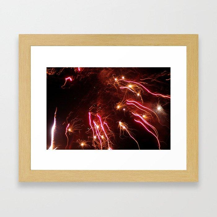 Pops of Color Framed Art Print