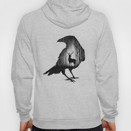 THE RAVEN AND THE DEER Hoody