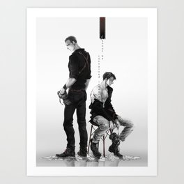 Cherik: Cannot be Contained in Words Art Print