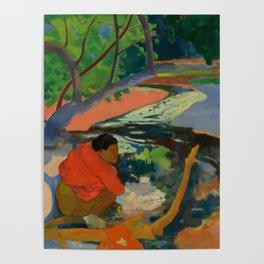 """Paul Gauguin """"Te Poipoi (Le matin - The morning)"""" Poster"""