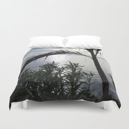 Come To My Window Duvet Cover