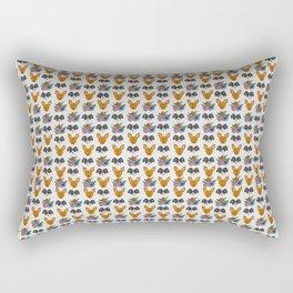 Two Mutts Rectangular Pillow
