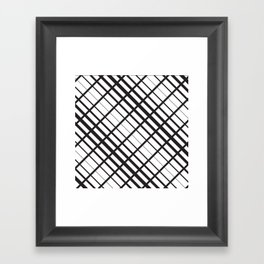 Ripe Stripe Framed Art Print