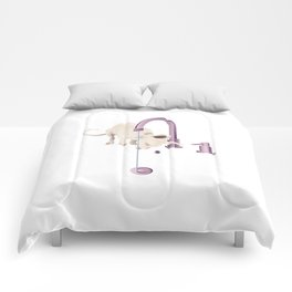 Cornish Rex Comforters