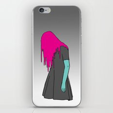 Black Grunge iPhone & iPod Skin